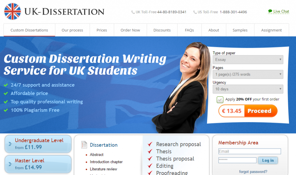 Education dissertation services uk
