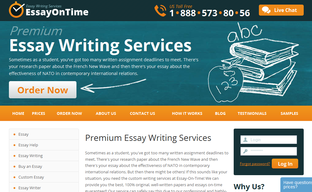 Online Paper Writing Service: College application essay 500 words