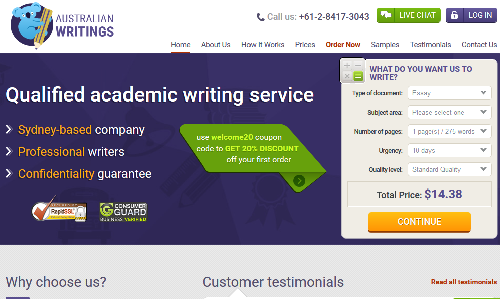 Cheap term paper writing service law