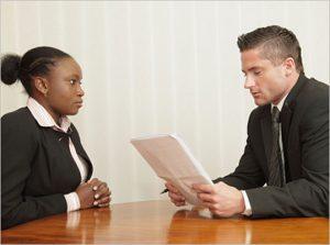 First job interview by topreviewstars.com