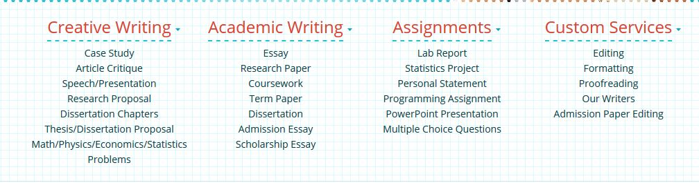 assignnment writing services